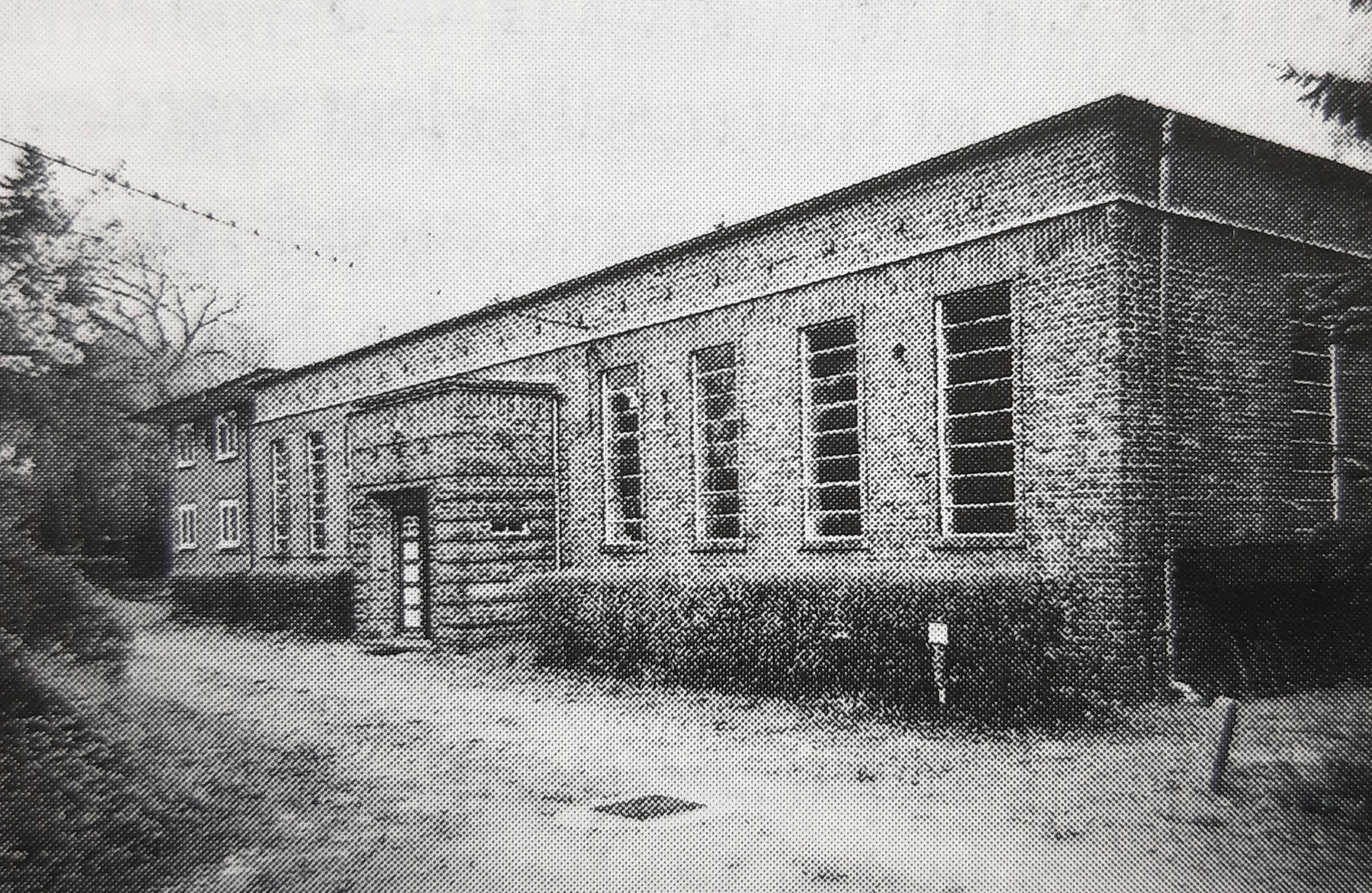 Inselsee-Wasserwerk Pfahlweg 1929